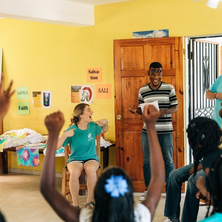 Experiencing Missions Jacmel VBS games